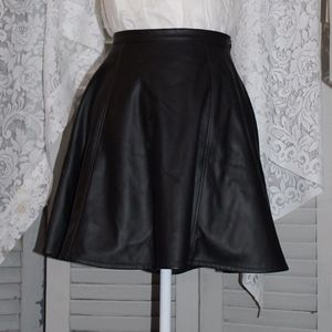 Lauren Conrad Faux Leather skirt